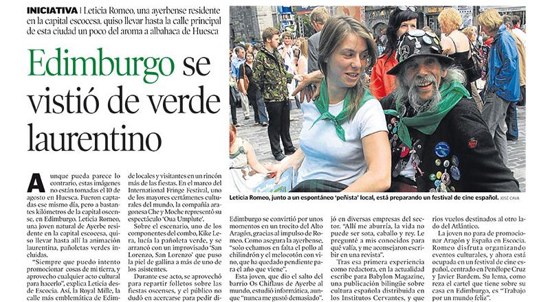 Heraldo Huesca